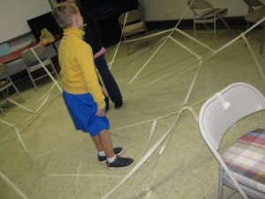 Interactive learning in First Baptist Shelton's children's ministry